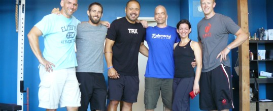 Presenters at the 2011 Elemental Fitness Clinic