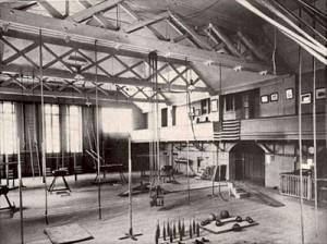 Turner Training hall. Milwaukee, WI circa 1900